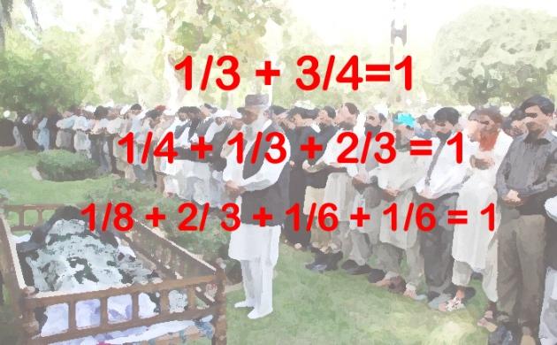 inheritance- who taught allah math